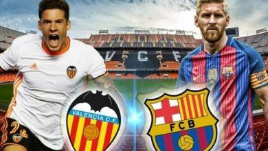Photo of موعد مباراة برشلونة و فالنسيا و القنوات الناقلة